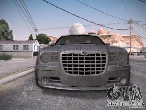 Chrysler 300C SRT8 for GTA San Andreas interior