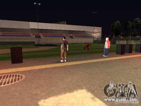 Concert of the AK-47 for GTA San Andreas seventh screenshot