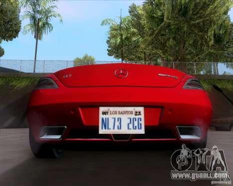 Mercedes-Benz SLS AMG V12 TT Black Revel for GTA San Andreas right view