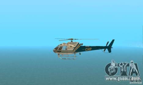 AS350 Ecureuil for GTA San Andreas left view
