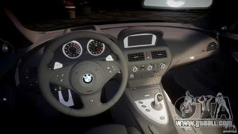 BMW M6 2010 v1.0 for GTA 4 back view