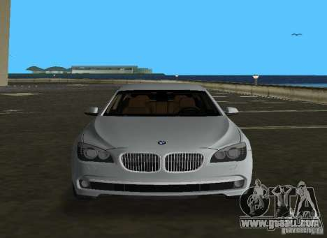 BMW 750 Li for GTA Vice City side view