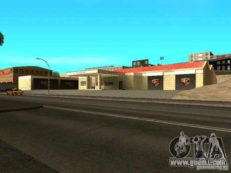 Porsche Garage for GTA San Andreas