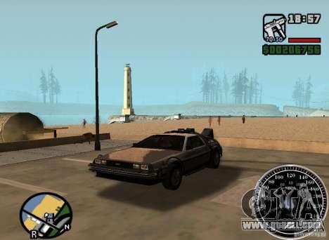 Crysis Delorean BTTF1 for GTA San Andreas