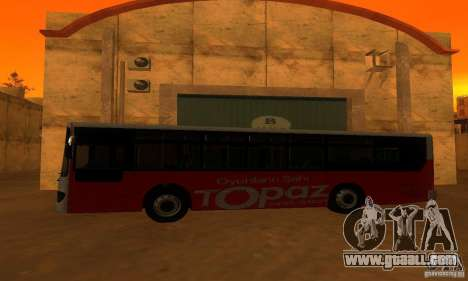 Daewoo Bus BC211MA for GTA San Andreas left view