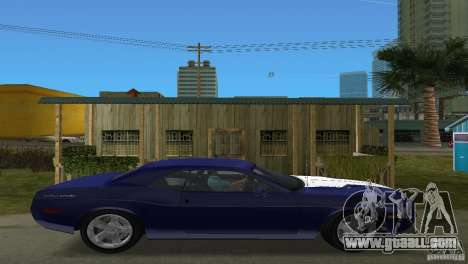 Dodge Challenger for GTA Vice City right view
