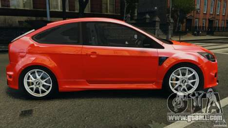 Ford Focus RS for GTA 4 left view