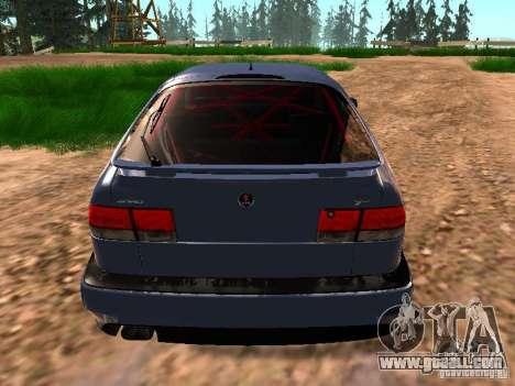 Saab 9-3 Aero for GTA San Andreas back view