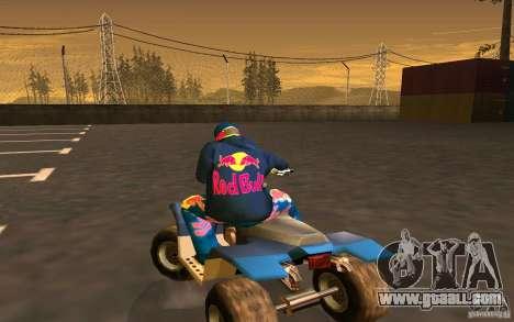 Red Bull Clothes v1.0 for GTA San Andreas ninth screenshot