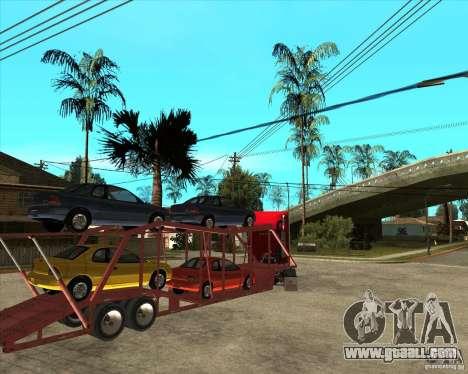 Semi-trailer Truck for GTA San Andreas side view