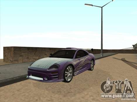 Mitsubishi Eclipse Spyder 2FAST2FURIOUS for GTA San Andreas