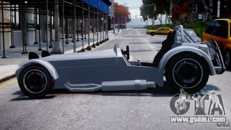 Caterham Super Seven for GTA 4 left view