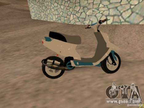 MBK Booster for GTA San Andreas back left view