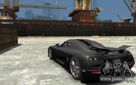 Koenigsegg CCXR Edition V1.0 for GTA 4 back left view