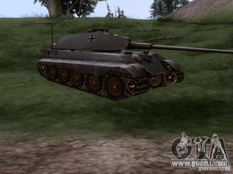 Pz VII Tiger II Royal Tiger VIB for GTA San Andreas right view