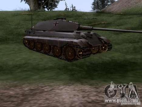 Pz VII Tiger II Royal Tiger VIB for GTA San Andreas right view