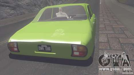 Peugeot 504 for GTA San Andreas back left view