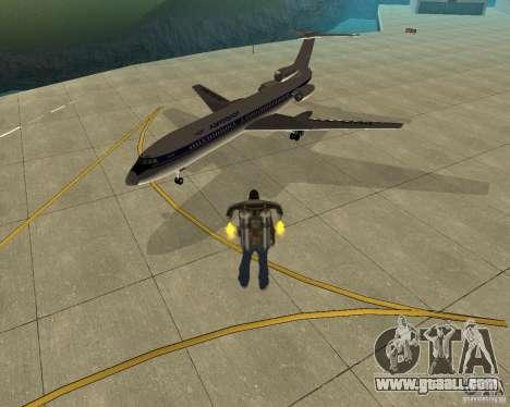 Pak air transport for GTA San Andreas left view