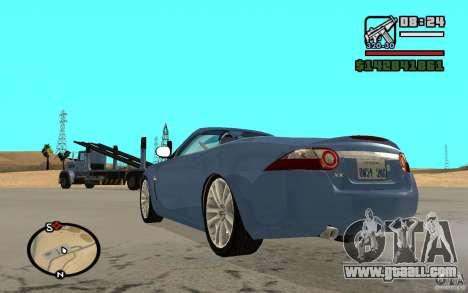 Jaguar XK Convertable for GTA San Andreas left view