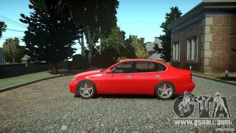 Toyota Aristo for GTA 4 left view