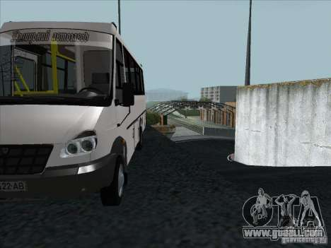 Golaz 3207 for GTA San Andreas side view