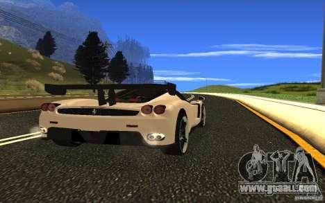Ferrari Enzo ImVehFt for GTA San Andreas right view