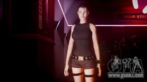 Angelina Jolie (Tomb Raider) for GTA 4 fifth screenshot