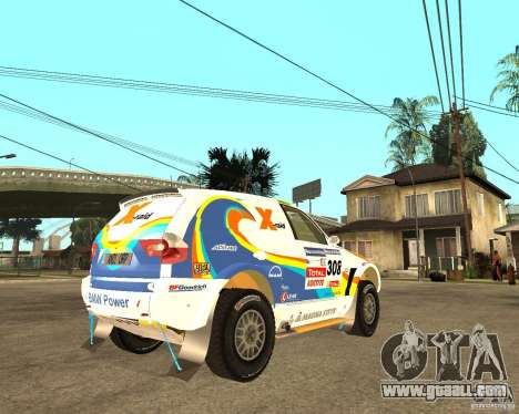 BMW X3CC X-Raid for GTA San Andreas right view
