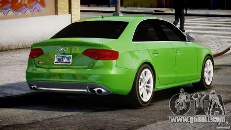 Audi S4 2010 v1.0 for GTA 4 side view