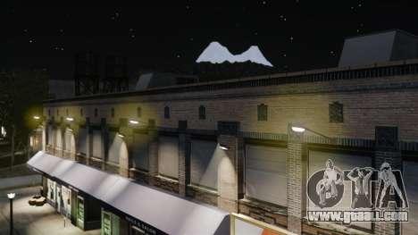 Yellow light lights for GTA 4 sixth screenshot