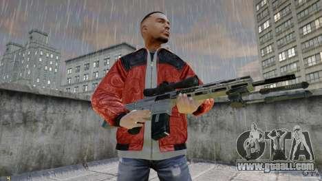 RSASS of MW3 (sniper) for GTA 4 second screenshot