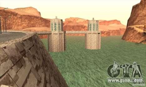 The new dam for GTA San Andreas fifth screenshot