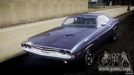 Dodge Challenger 1971 for GTA 4