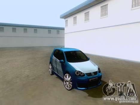 Volkswagen Golf V GTI for GTA San Andreas right view