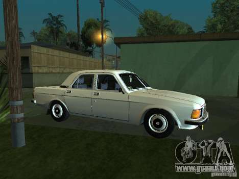 GAZ 3102 for GTA San Andreas back left view