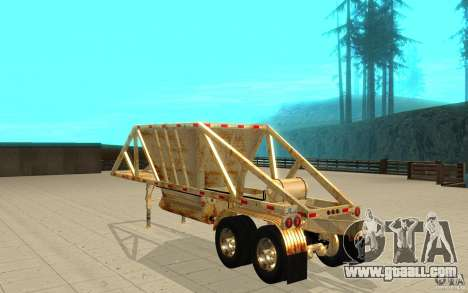 Petrotr trailer 2 for GTA San Andreas