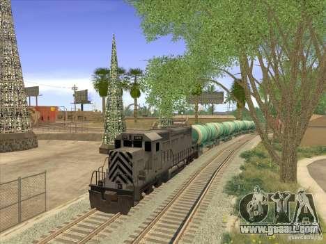 Tank No. 517 94592 for GTA San Andreas right view