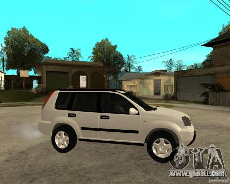 NISSAN X-TRAIL 2001 for GTA San Andreas right view