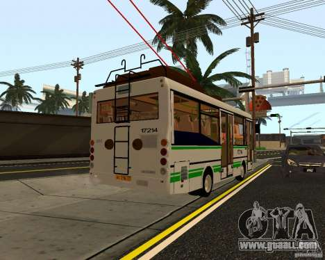 GROOVE MTRZ 3237 for GTA San Andreas back left view