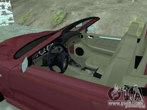 Spyder Cambriocorsa for GTA San Andreas left view