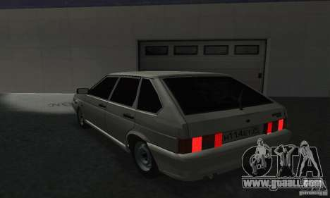 VAZ-2114 for GTA San Andreas left view