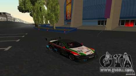 BMW E92 M3 for GTA San Andreas upper view