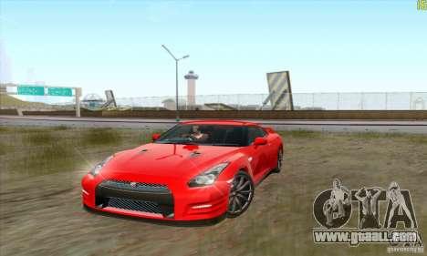 Nissan GT-R R-35 2012 for GTA San Andreas