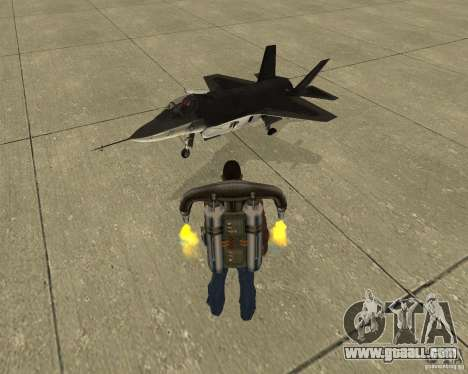Pak air transport for GTA San Andreas upper view