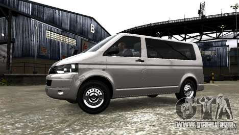 Volkswagen T5 Facelift for GTA 4 left view
