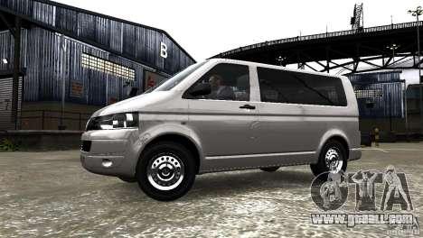 Volkswagen T5 Facelift for GTA 4 left view