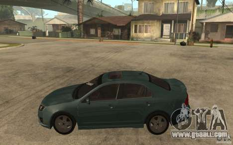 Ford Fusion 2010 for GTA San Andreas left view