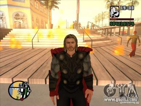 Thor for GTA San Andreas