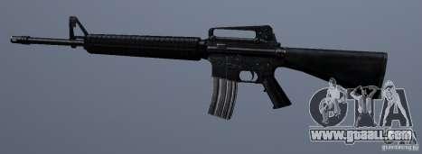 M16A4 for GTA San Andreas third screenshot