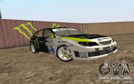 Subaru Impreza WRX Gymkhana2 Beta for GTA San Andreas